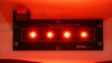 Dryer LEDs - Red