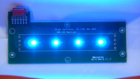 Dryer LEDs - Blue