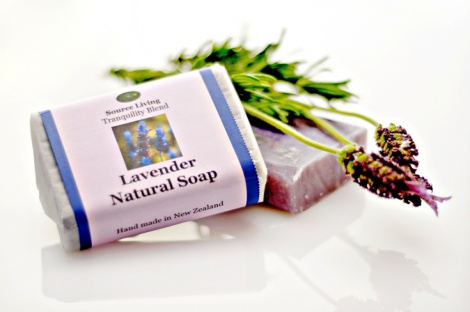 Lavender Natural Soap 90g