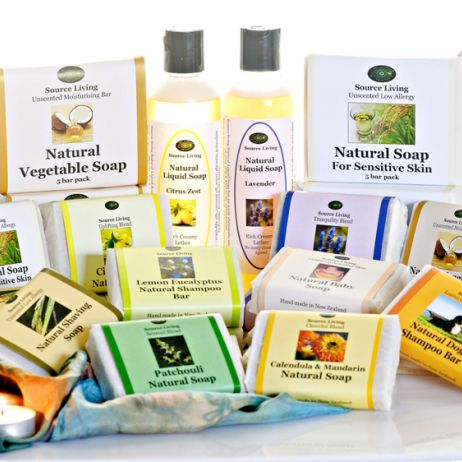 Assorted Natural Soap 5 bar pack