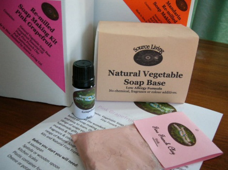 Soap Making Kit Pink Grapefruit