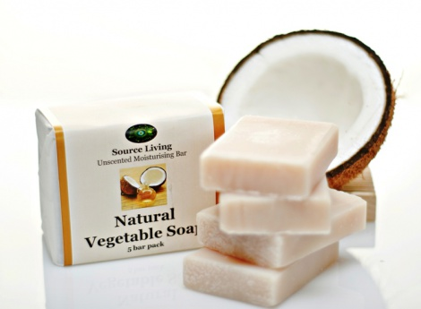 Natural Vegetable Soap 10 pk