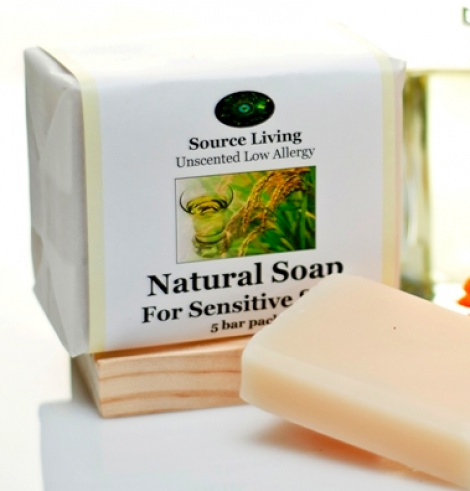 Natural Sensitive Skin Soap 5 pk