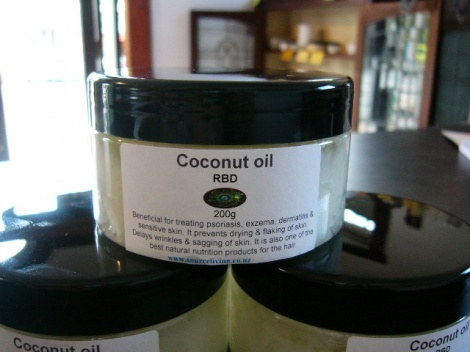 Coconut Oil - Scented 200g Jar