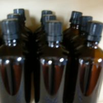 Bottles 50ml pack of 5 + caps