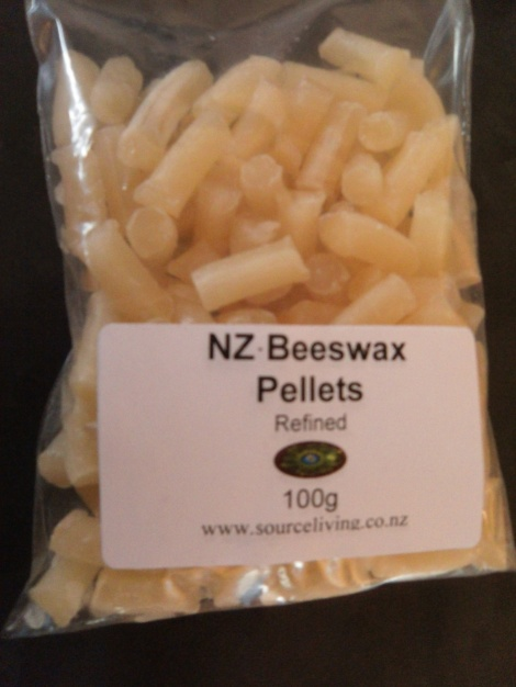 Beeswax Golden refined 100g