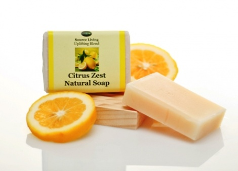 Citrus Zest 90g bars Pack of 3