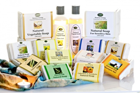 Natural Soap 10 Bars - You Choose
