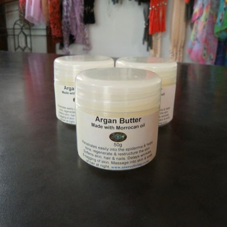 Argan Butter with moroccan oil
