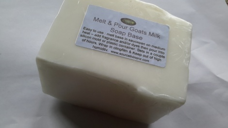 Soap Base Goat Milk 500g