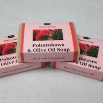 Olive Oil Soap with Pohutukawa