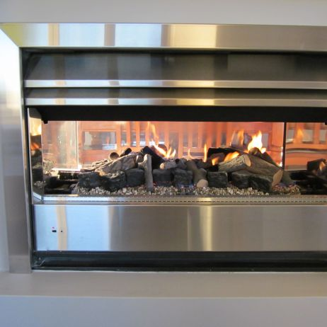 Gas Flame Effect Heating