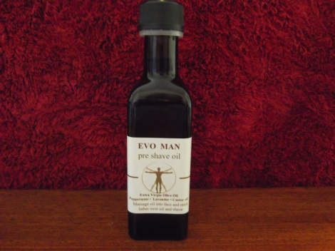 EVOMAN shave & cleanse oil
