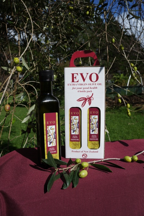 4 250ml EVO Extra virgin olive oils in the Box