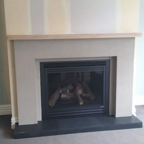 Fireplace render