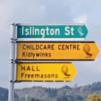 Street Sign@Kidlywinks Childcare Upper Hutt