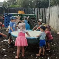 Water Play@Kidlywinks Childcare Upper Hutt