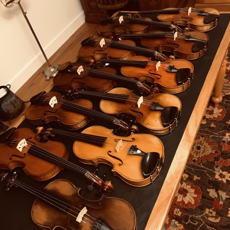 More Antique Violins at Christchurch Fine Violins