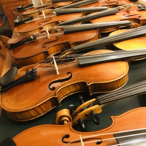 Antique Violins at Christchurch Fine Violins