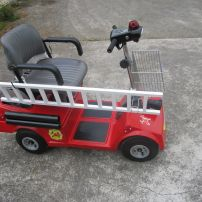 Fire Engine Scooter