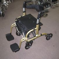 Walker Wheelchair Combo