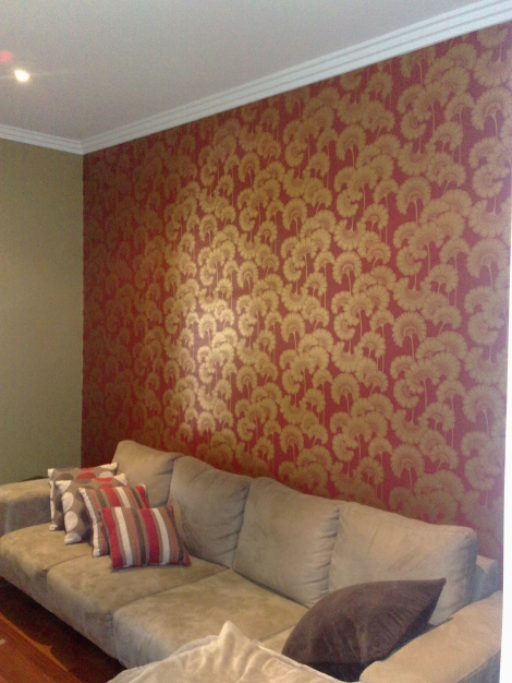 Hand printed wallpapers
