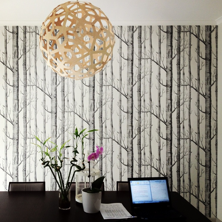 Cole And Son Woods Wallpaper Installation Sydney