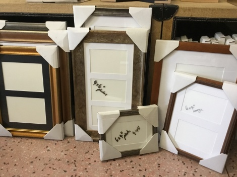 We have made a variety of small bespoke empty frames