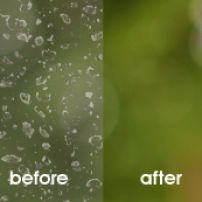 Water stain removal / glass restoration