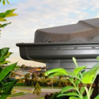 slotted quad gutter fascia cover and roof restore