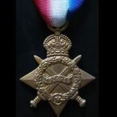 World War I - 1914 Star with ribbon