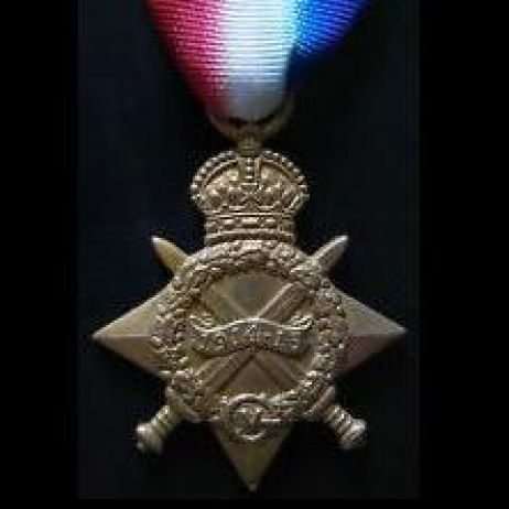 World War I Medals - 1914-15 Star with ribbon