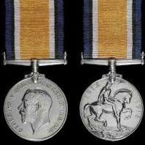 World War I - British War Medal 1914-19 with ribbon