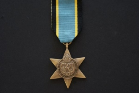 World War II - Air Crew Europe Star with ribbon
