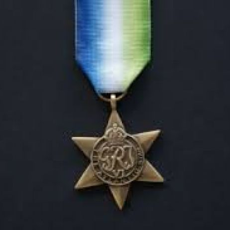 World War II - Atlantic Star with ribbon