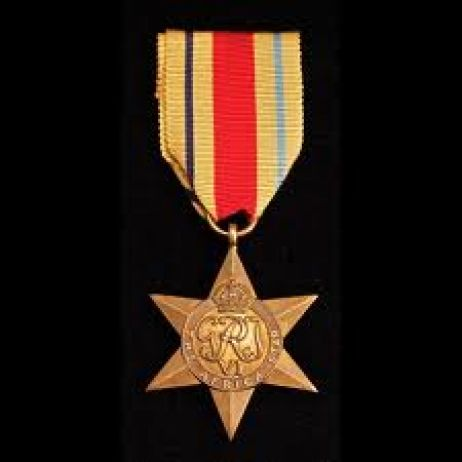 World War II - Africa Star with ribbon