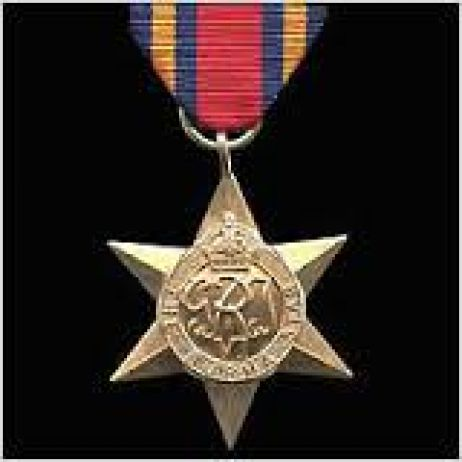 World War II - Burma Star with ribbon
