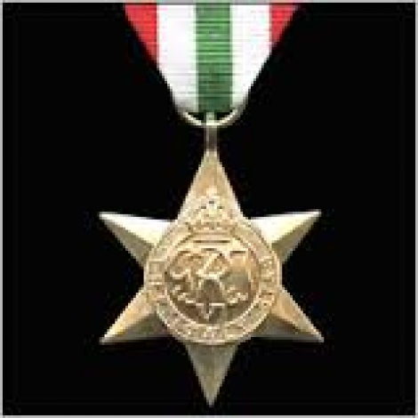 World War II - Italy Star with ribbon