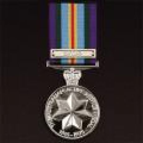 Australian Active Service Medal 1945-75 with ribbon (clasp extra)