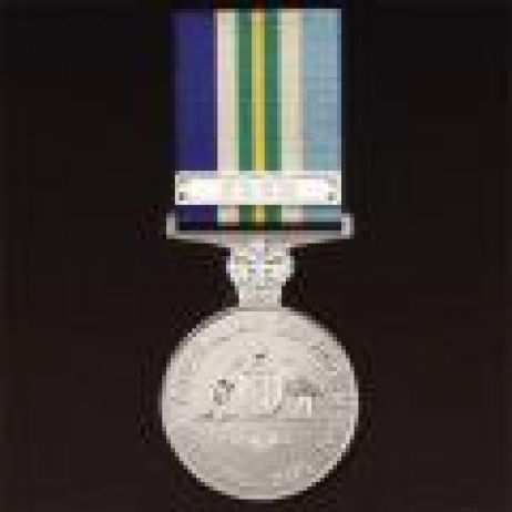 Australian Service Medal 1945-75 with ribbon (SE Asia Clasp extra)
