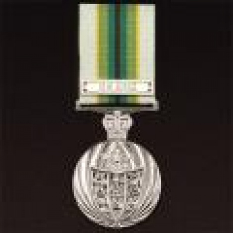 Australian Service Medal 1975 with ribbon (Sinai Clasp extra)