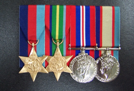 World War II Medal Group