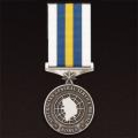 General Service Medal Korea with ribbon