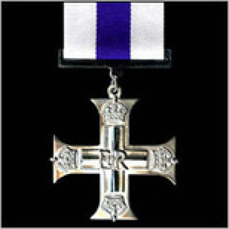 Military Cross with ribbon
