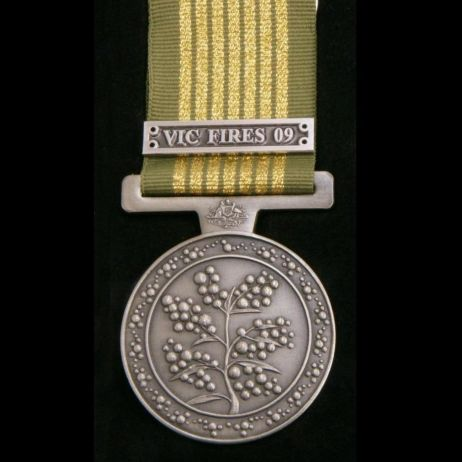 National Emergency Medal with ribbon