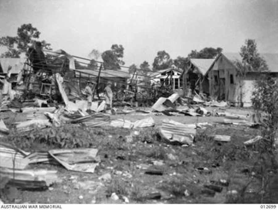 bombing of darwin 1942 essay Enrich your history lessons with this writing activity students will write an essay about the japanese air force's bombing of darwin during world war ii.