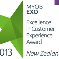 MYOB EXO Excellence in Customer Experience Award 2013