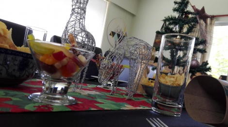 Christmas lunch for Wahine and Tamariki