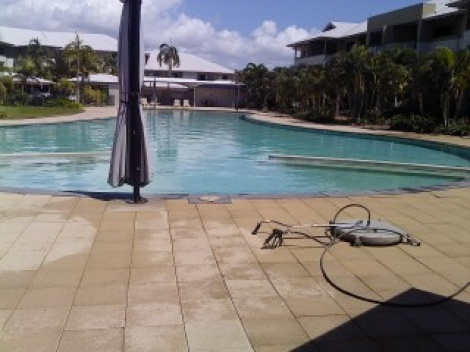 Pool Paver Cleaning