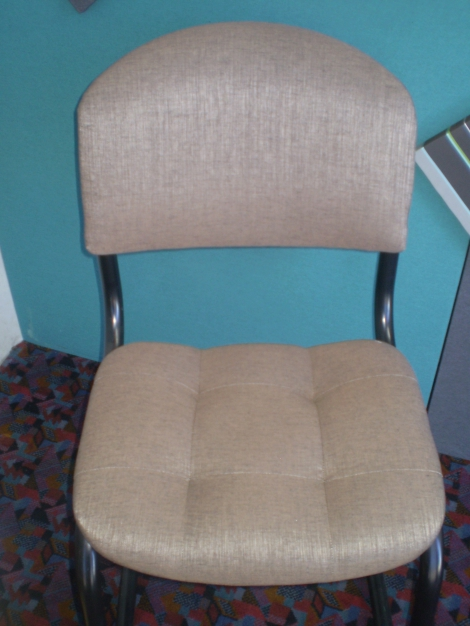Blind Button Waiting Room Chair